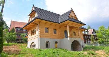 GERARD Corona Koyu Gümüş Bukowina Tatrzańska, dom jednorodzinny